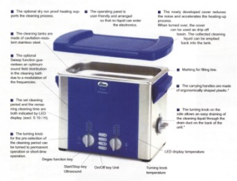 ELMA S30H超音波洗淨機